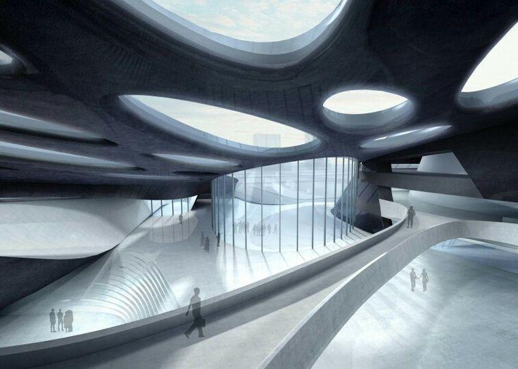 17 best images about zaha hadid architects on pinterest for Interior design zaha hadid