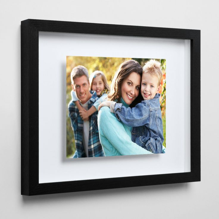 From: £119.99 Floating Framed Prints   Craftsmanship at its best. Your photo print is mounted directly onto the glass and set into the frame with the mount set back.   A great effect in soft light creating beautiful shadows that gives the appearance that the print is floating. Personalise photos and art with our floating picture frames.