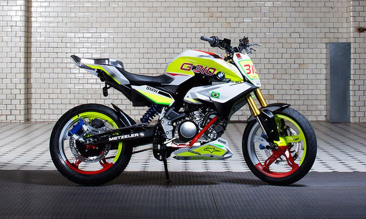 BMW Motorrad is set to premiere the BMW Concept Stunt G 310 at South America's largest motorcycle show.