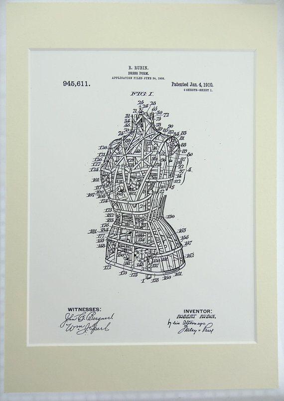 Antique Vintage Mixer-292 Official Art Deco Cocktail Shaker US Patent Art Print