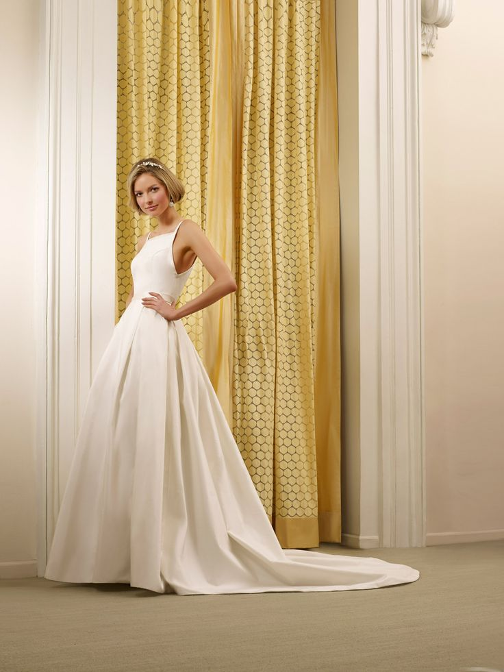 The Steven Birnbaum Collection Natalie wedding gown, available at Something White, A Bridal Boutique
