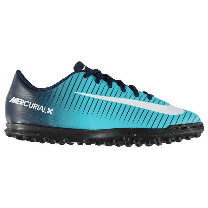 Nike Mercurial Vortex Junior Astro Turf Trainers | Kids Football Boots