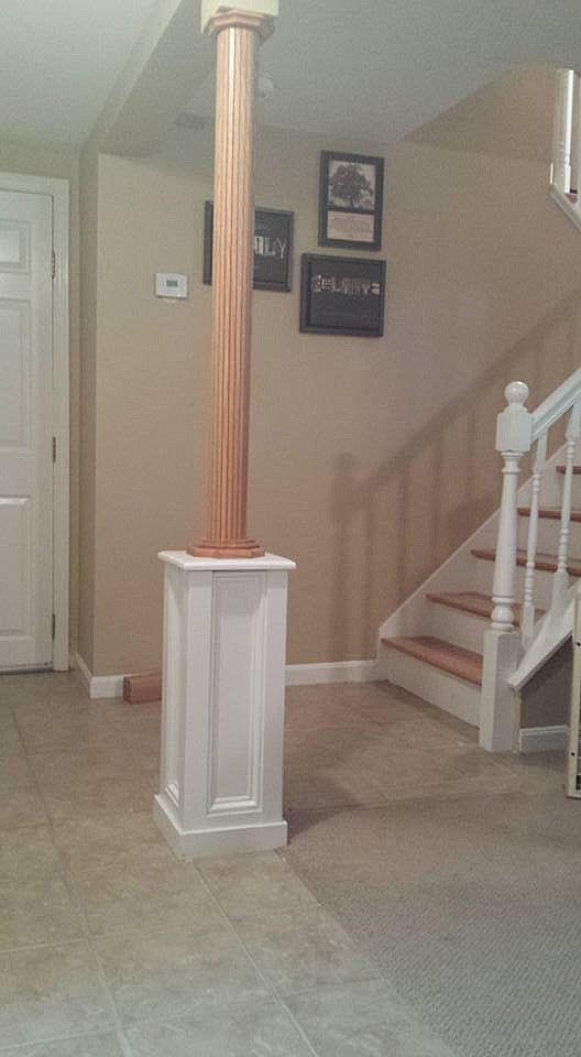 Best 25 Basement Pole Covers Ideas On Pinterest Column