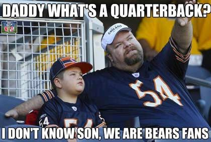 Packers-Bears Funny Pictures | Don't Know Son, We Are Bears Fans
