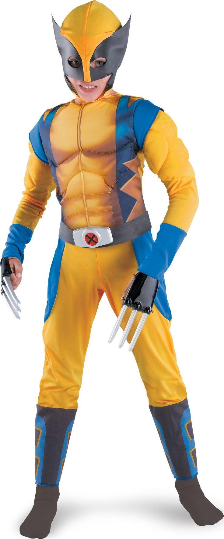Wolverine Origins Classic Muscle Child Costume