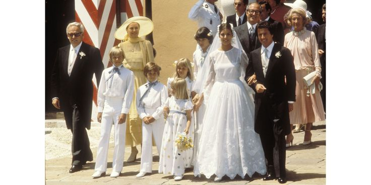 Princess Caroline of Monaco married Philippe Junot in 1978.   - MarieClaire.com