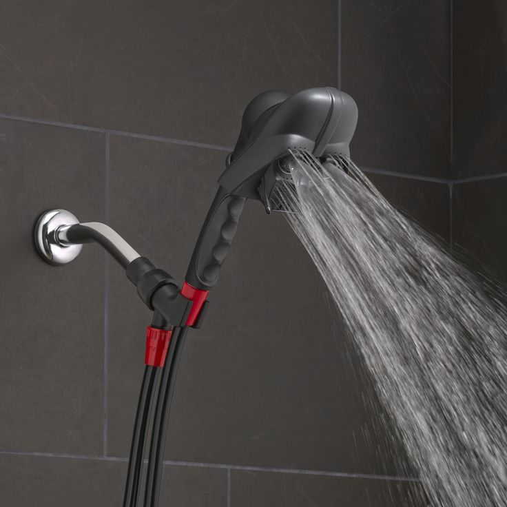 The Force is strong with this shower head. Meet the Star Wars™ Darth Vader Handheld Shower Head, set on the Oxygenics+WideStream setting.