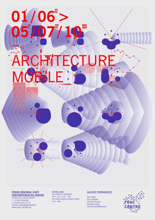 Frac Centre - Atelier Müesli, Design graphique