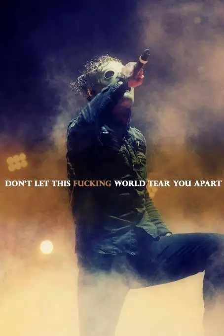 Slipknot lyrics are amazing