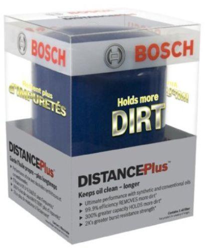 Bosch D3332 DistancePlus High Performance Oil Filter - Set of 2 Oil Filters