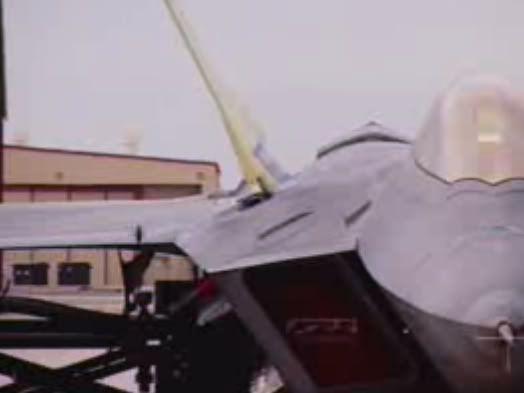 F 22 Raptor With M61a2 Vulcan Gun Door Open Planes