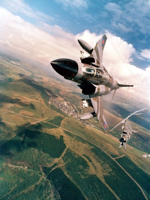 F-4 Phantoms Vectoring For Bogey... One of the planes my Dad worked on in Vietnam.