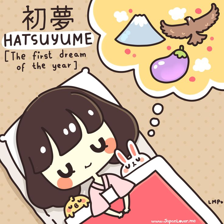 Hatsuyume (初夢) is the first dream a person will have in the new year. It is a…