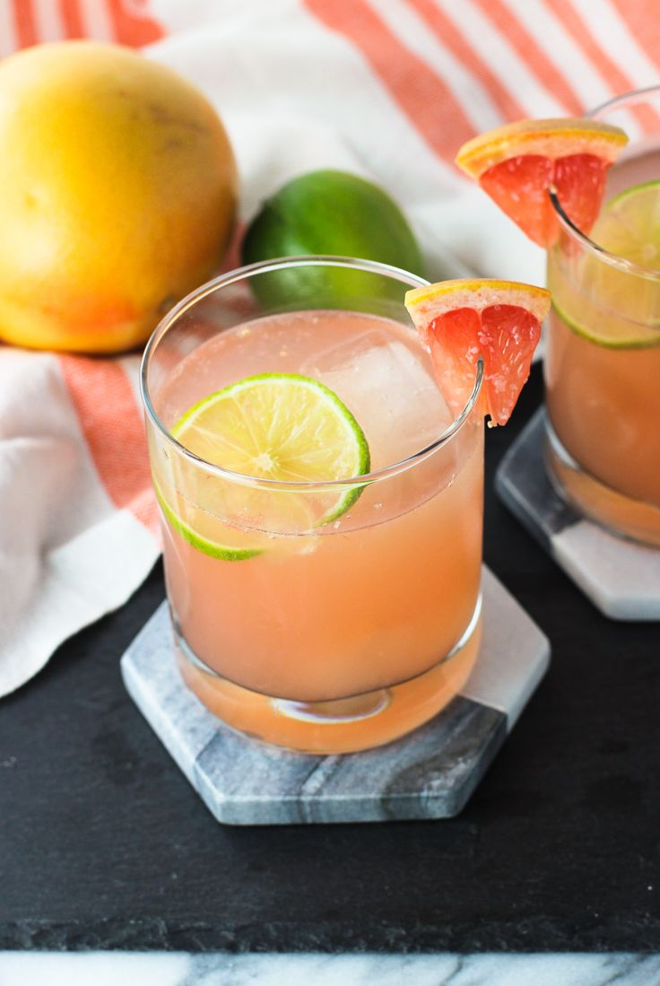 This champagne paloma is a tart, tequila-based cocktail with fresh grapefruit and lime juices, as well as champagne for fizziness and a hint of sweetness.