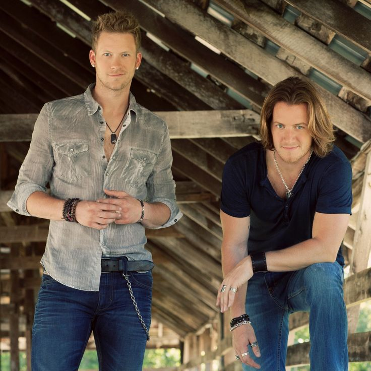 Florida Georgia Line. Brian Kelley and Tyler Hubbard gotta love these two! :)