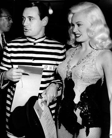 MAMIE VAN DOREN and her husband Ray Anthony