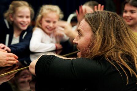 Tim Minchin brings hit musical home in Matilda and Me