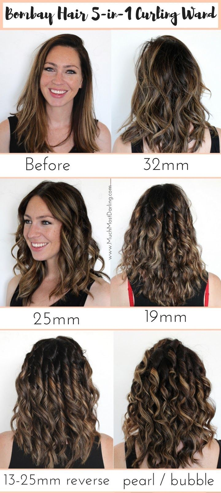 Pin By Jessica Warren On Dyi Makeovers In 2020 Curling Wand Short Hair Wand Hairstyles Curling Hair With Wand