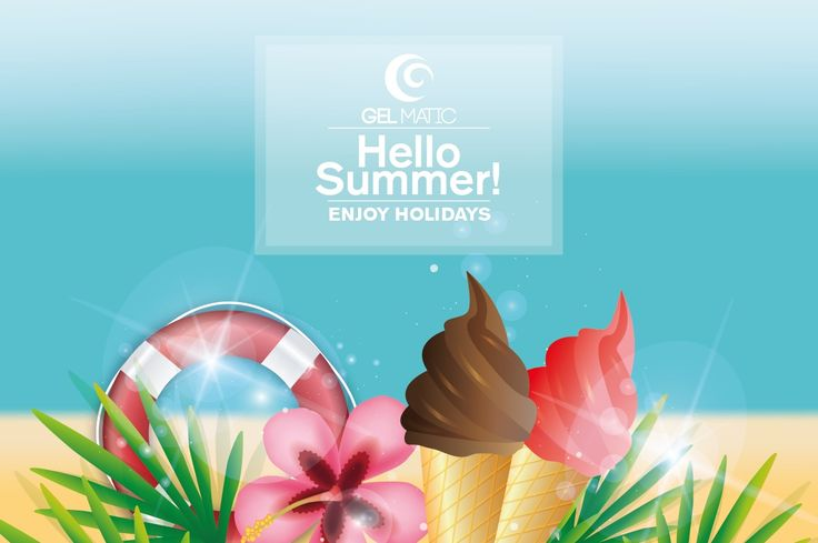Hello #Summer! #holidays #gelmatic #gelato #happymoments #enjoy www.gelmatic.com