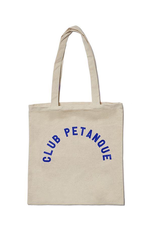 Club Petanque Collection AW16 -Tote Bag UNIVERSITÉ -  #clubpetanque #paris #french #brand #clothing #fashion #style