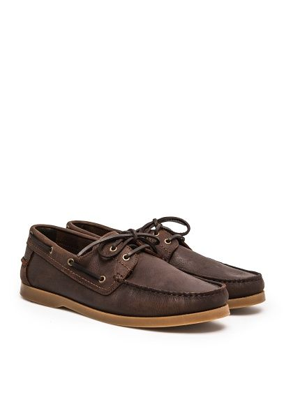 H.E.BY MANGO - CASUAL - Shoes - Leather boat shoes