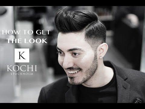Textured Short QUIFF | Men's Hairstyle Tutorial #NEW 2017 - YouTube