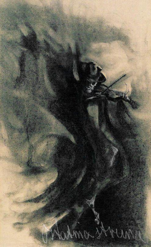 Witold Wojtkiewicz (1879-1909), La Dernière Corde - 1903
