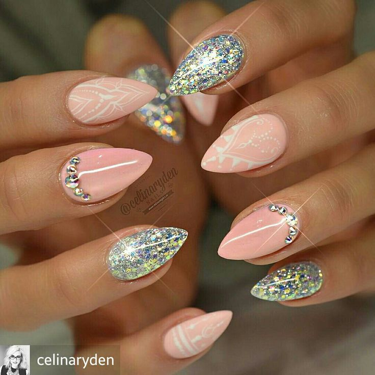 Glamorous Stiletto Nail Designs You'll Adore - 3194 Best ♥ Gel/Acrylic Nails ♥ Images On Pinterest Gel