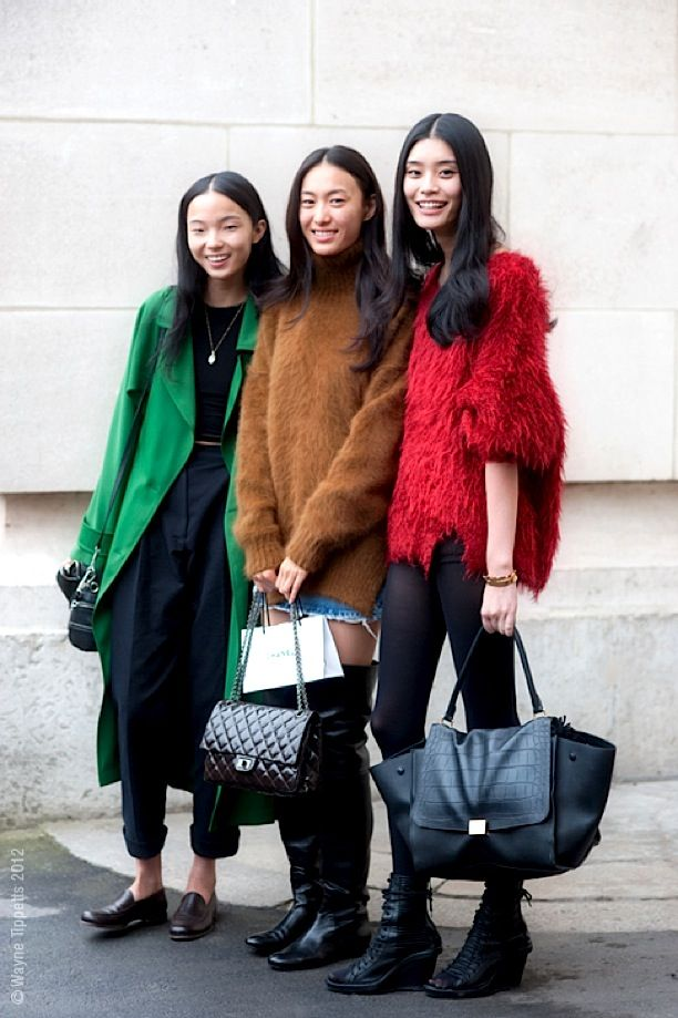 Fuzzy knits are a hit! #fashionconvo