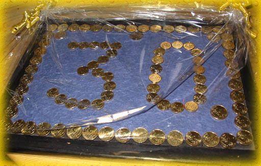 Geld zum 30. Geburtstag