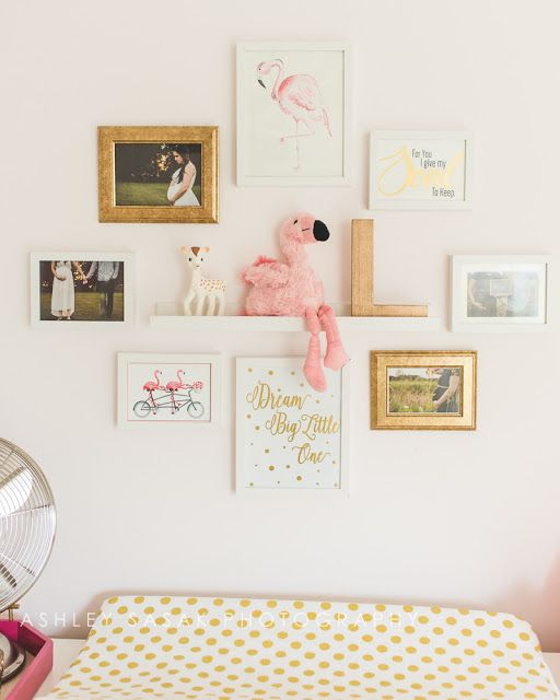 Baby Girl Nursery Wall Decor Ideas BABY GIRL FLAMINGO NURSERY BABY KAUFMAN ADVENTURES | Baby Kaufman  Adventures Blog | Flamingo nursery, Girl nursery, Nursery