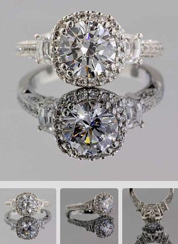 love the look of these diamond rings luxury engagement rings - Luxury Wedding Rings