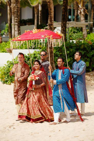 Puerto Rico Indian Destination Wedding by Noel Del Pilar of Anuja   Mehul (Part 1 of 2)