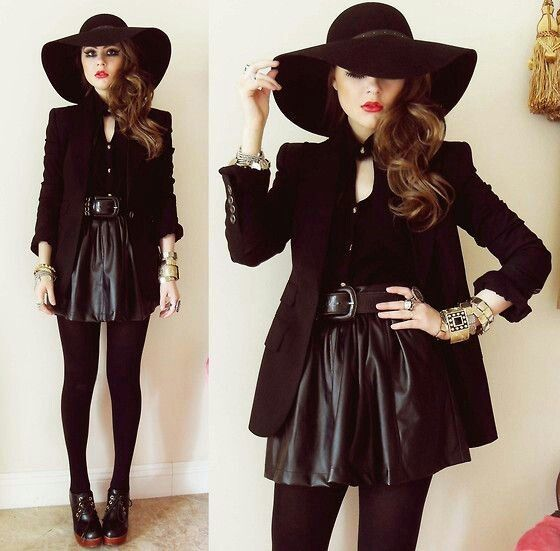 Love this look it's playful witchy!