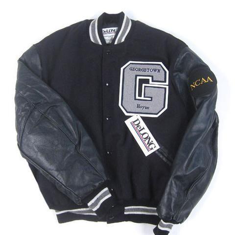 Vintage Georgetown Hoyas DeLong Varsity Jacket NWT