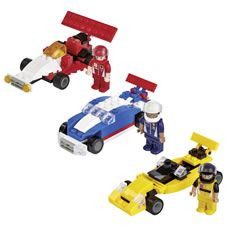 Wilko Blox Racing Car Starter Set Assortment