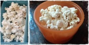 Real Easy School Lunches - snacks - popcorn