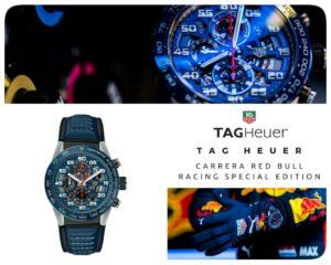 TAG Heuer Carrera Red Bull Racing Special Edition Calibre HEUER01