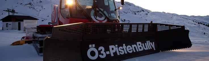 Ö3 Pistenbully am 10.2.2013 im Silvretta Montafon    #pistenbully #silvrettamontafon #montafon #apresski