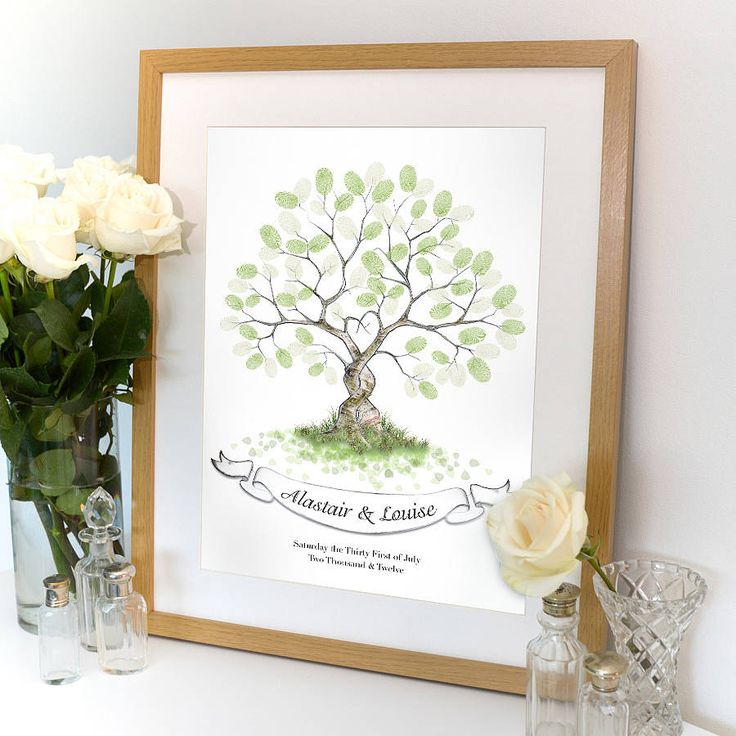 i love the design of this fingerprint wedding tree 2 trees entwined wedding pinterest