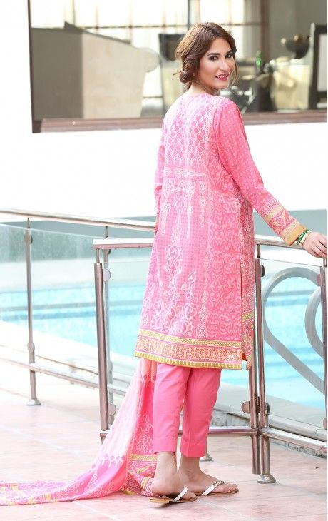 Oaks Spring Lawn Collection Unstitched 3 Piece Suit OL-178 A. LawnCollection #EidCollection2016