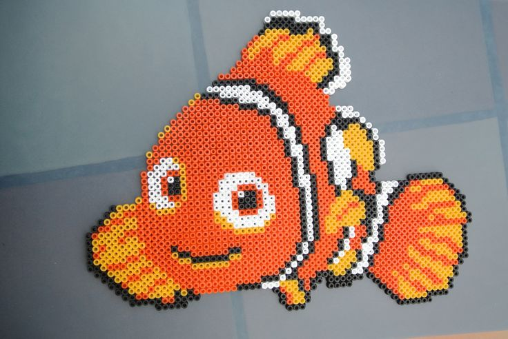 Nemo - Finding Nemo hama perler beads by taxie25