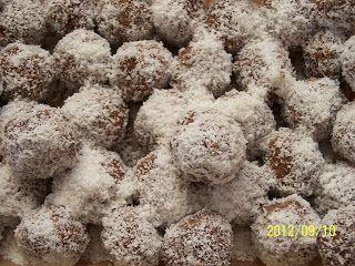 farkaselet: Kókuszgolyó kölesből (gluténmentes)