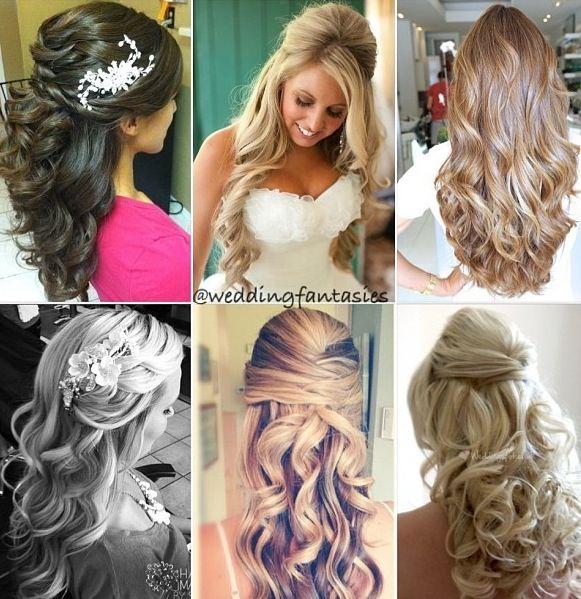 Wedding hair-bridesmaid