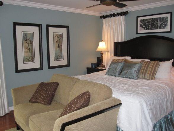 blue and brown master bedroom bedroom makeover pinterest
