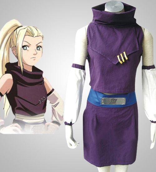 Cheap Naruto Yamanaka Ino Art Cosplay Costume for Sell