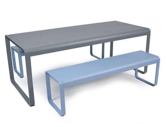 Fermob USA 8420 Bellevie Table Here Is A Large Modern Table (for 8 To 10 Part 94