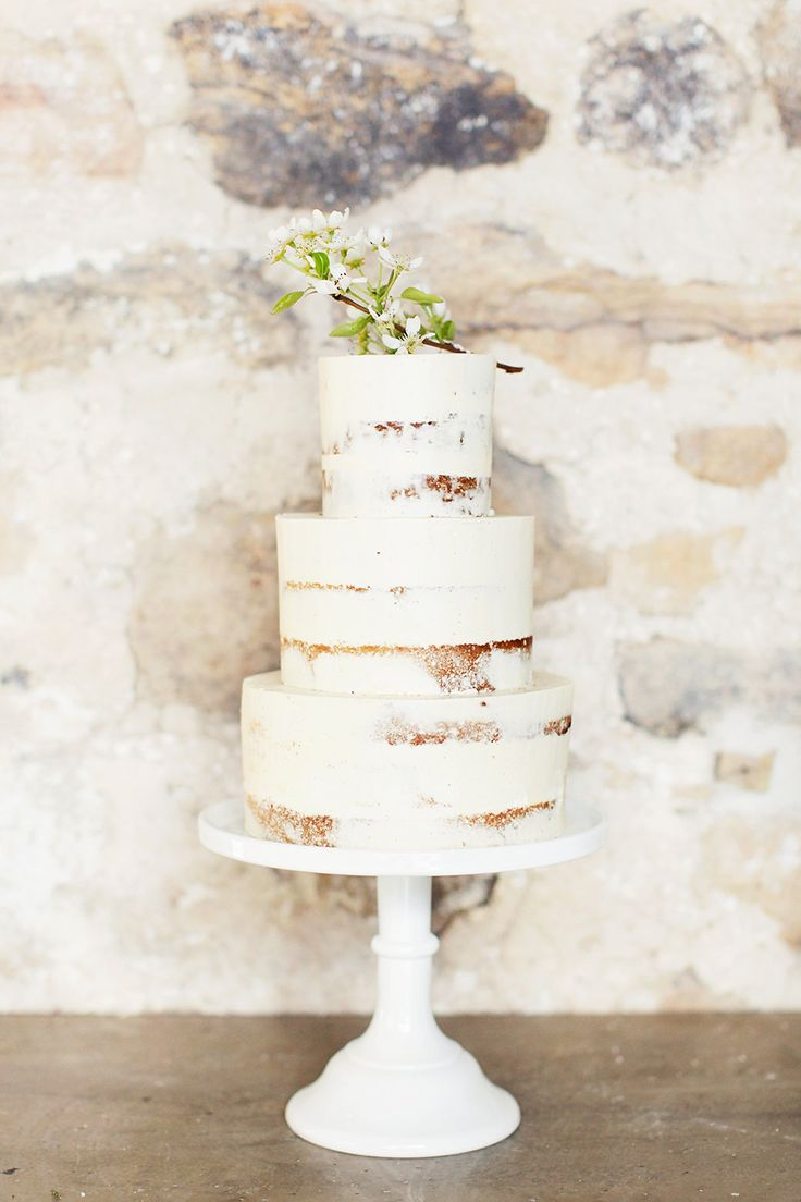 149 best Nearly Naked Cakes images on Pinterest   Cake wedding ...