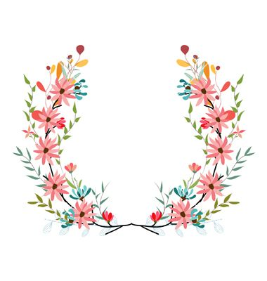 Banners floral frames and graphic elements vector by ngocdai86 on VectorStock®
