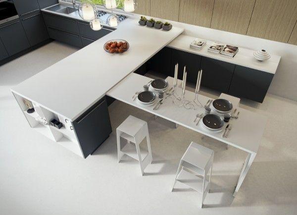 Kitchen Advanced White Furniture model
